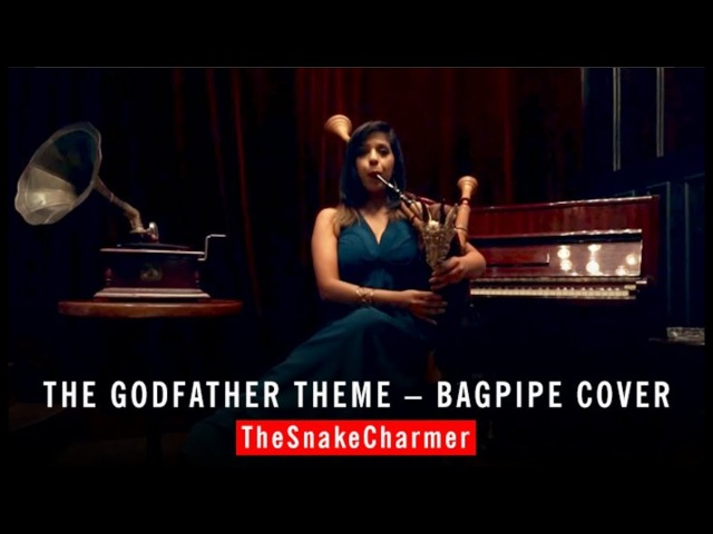 The Godfather Theme Bagpipes - The Snake Charmer Cover