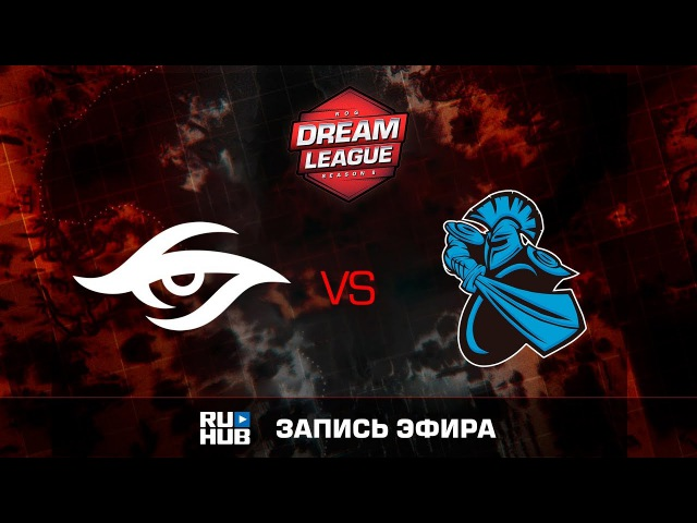 Secret vs NewBee - Game 2, Winner Bracket Semifinals - DreamLeague Season 8 2017