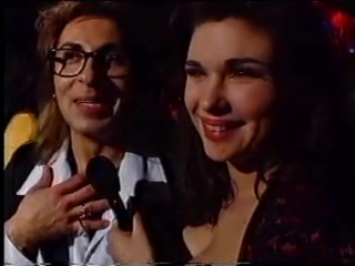 Dominika & Jean-Pierre from Army of Lovers at the Grammy Awards