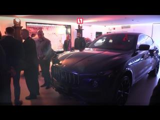 Эксклюзивный Maserati Levante в карбоновом обвесе в дилерских центрах