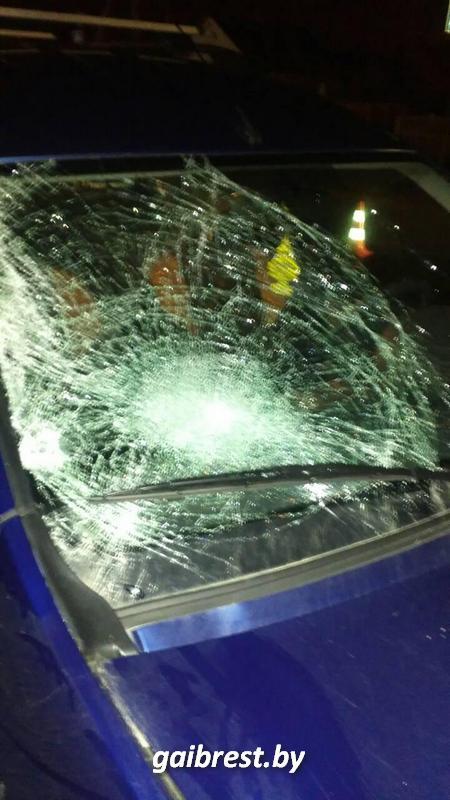 В Кобрине в результате наезда на пешеходном переходе погиб местный житель