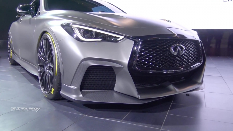 Infiniti Project Black S - Exterior And Interior Walkaround - 2018 Toronto Auto Show