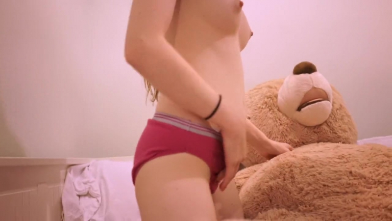 Naked teens teddy bear humping — 15