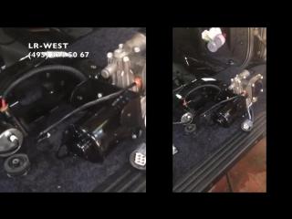Влага в системе пневмо-подвески Range Rover