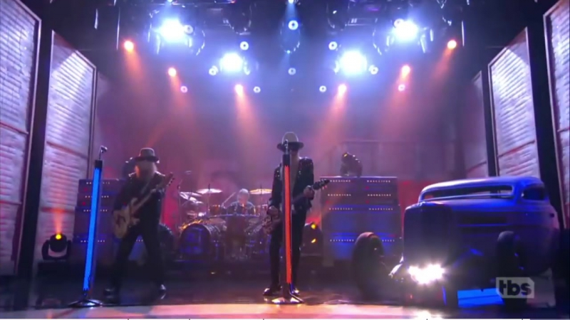 ZZ Top on Conan - October 5, 2016