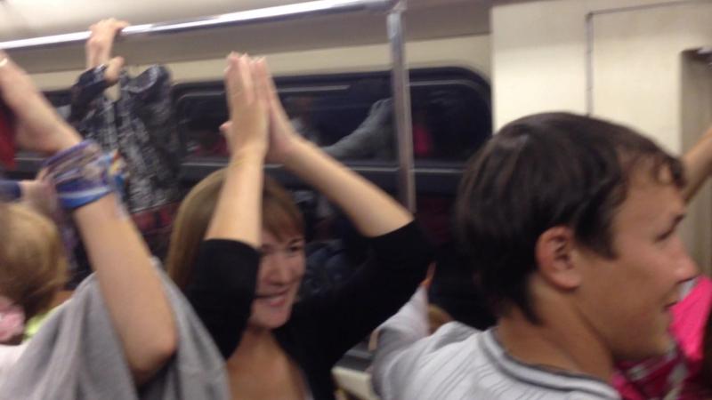 Олимпиец 2014 год я банан в метро