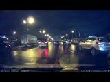 ДТП  Помеха справа  Kia Picanto vs Fiat 500