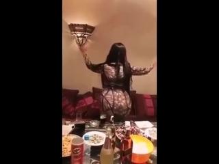 رقص خليجي اماراتي في البيت +18