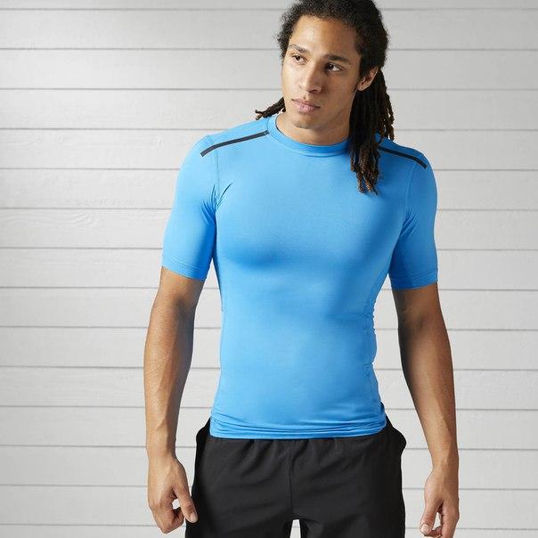 Компрессионная футболка с коротким рукавом ACTIVCHILL