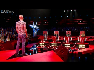 Pierre Edel - Sweet Child Of Mine - The Voice Belgique - 12012018