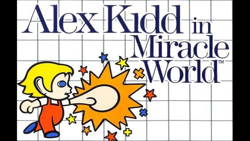 Японская реклама Alex Kidd in Miracle World (1986 год)