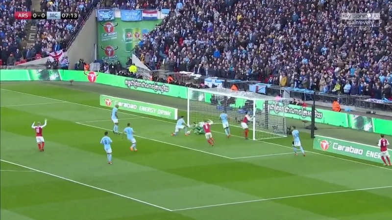 Арсенал - Манчестер Сити / Кубок Лиги / Финал / Обзор матча