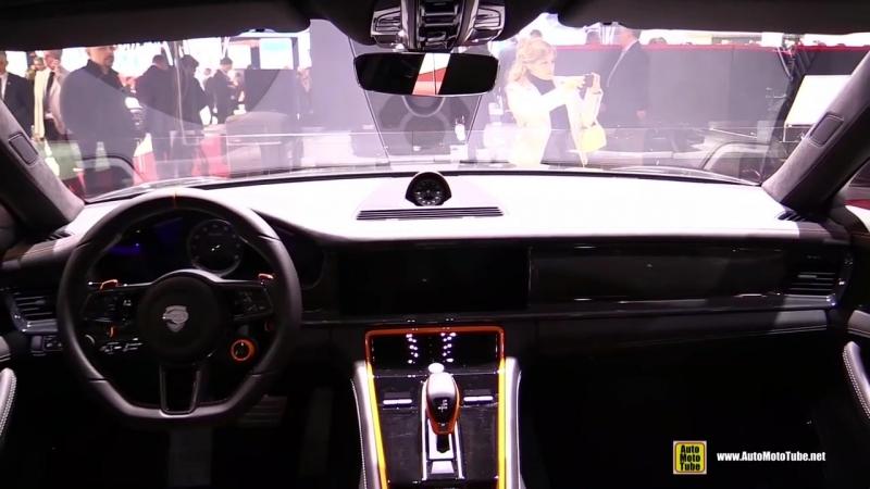 2017 Porsche Panamera Turbo TechArt Grand GT - Exterior Interior Walkaround - 2017 Geneva Motor Show.mp4