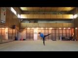 RG Hoop Elizaveta Lapsakova Rhythmic gymnastics