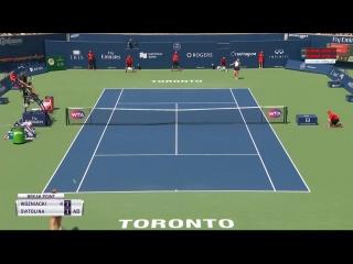 [WWE QTV]☆[Highlights] «WТА Toronto-2017»]Elina Svitolina - Caroline Wozniacki]Обзор[Элина Свитолина — Каролина Возняцки]