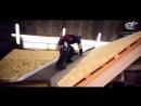 Монтаж гибкой черепицы ТехноНИКОЛЬ- монтаж в ендове открытым способом видеоинструкция, часть 1