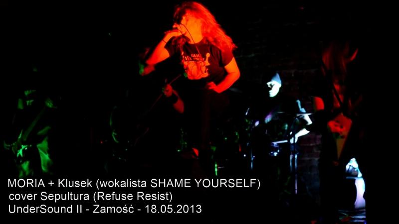 MORIA Klusek (wokalista SHAME YOURSELF)