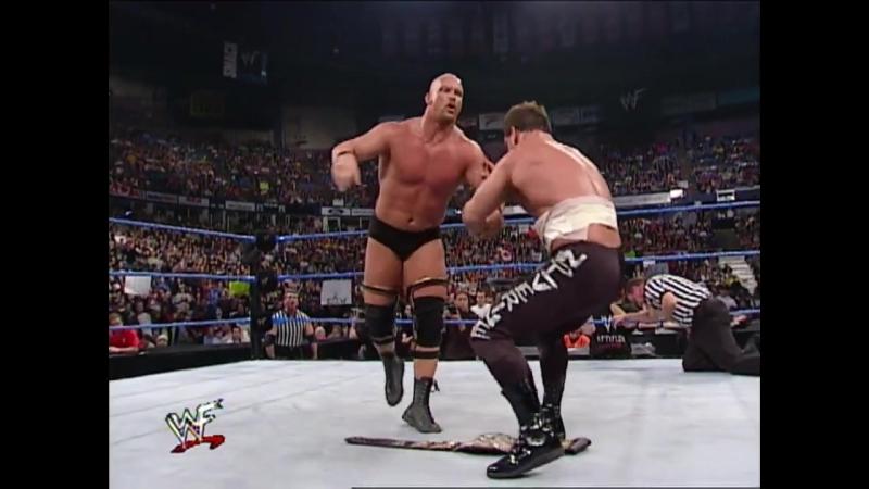 Steve Austin vs. Chris Benoit