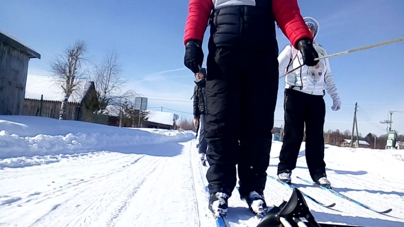 Авантюристы- лыжники
