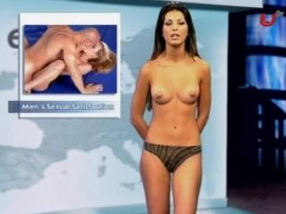 eUrotic TV - Cleo NakedNews (1m32s)