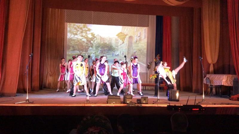 Танец «Московский дворик»