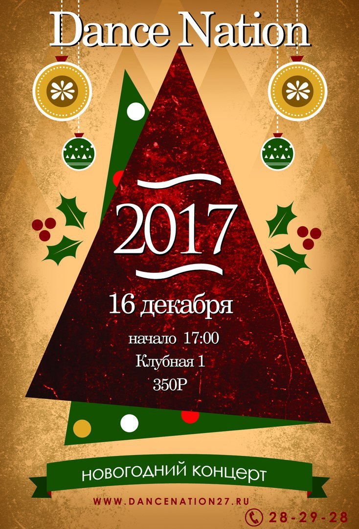 Афиша Хабаровск ---<< Новогодний отчетный концерт >>---