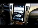 Штатная магнитола в стиле Тесла для Тойота Камри 40