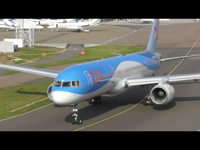 Plane Spotting at London Luton Airport - Busy Morning Rush | 07-09-17