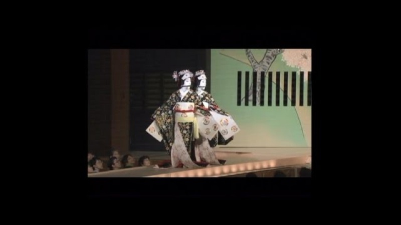 歌舞伎 玉三郎 菊之助 京鹿子娘二人道成寺 道行 とすっぽん準備作業