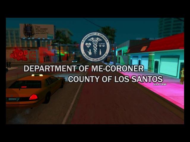 HMD | Departament of ME-Coroner County of LS. Music video. ( Agnes Obel - The Curse )