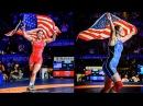 Helen Maroulis , Adeline Gray 2015 World Champions , 2016 Olympians 4K Highlights