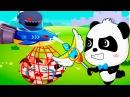 Приключения Малыша Панды против Злого Короля.Спасение Друзей Панды с Помощью Ма...