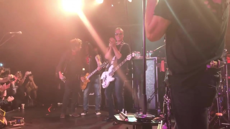 Joe Perry Friends_ Train Kept A Rollin' (w_Slash and Johnny Depp), Live at The