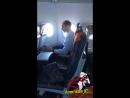 Спалили дрочера в самолёте ор