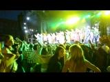 ролик из концерта Надежда Бабкина в Кемерово пл Советов вечер все танцуют