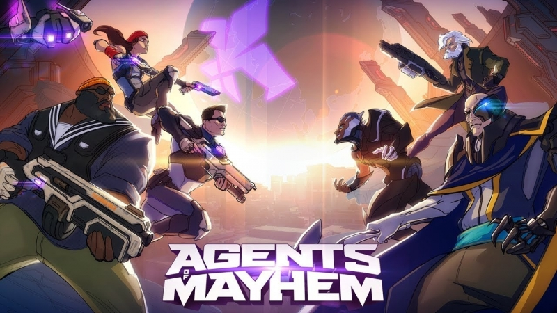Agents of Mayhem (стример - Тедан Даспар) ссылка на розыгрыш ключа от Red Faction Guerilla