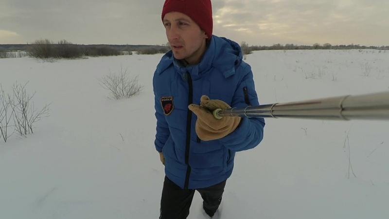 НОВЬЕ! по заячьим следам(река -15.гон зайца,опасный лед)