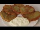 ДРАНИКИ или картофельные оладьи DRANIKI or potato pancakes