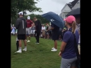 August 8: Another video of Justin at the PGA Championship in Charlotte, North Carolina.