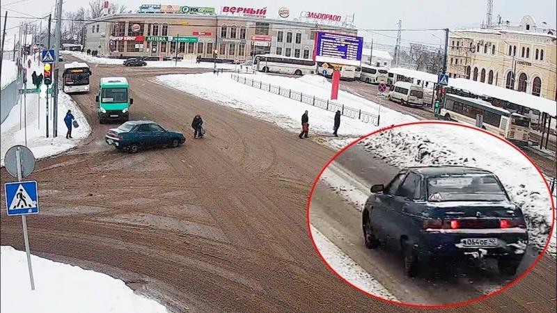 Серпуховские инспектора ДТП устроили погоню за калужанином