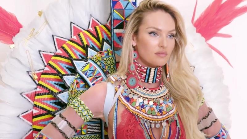 Supermodel Candice Swanepoel Returns to the Victorias Secret Fashion Show _ Harpers BAZAAR