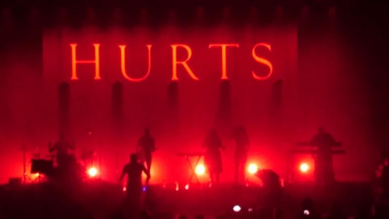 Hurts - Ready To Go (Live Fesco Hall 3022018)