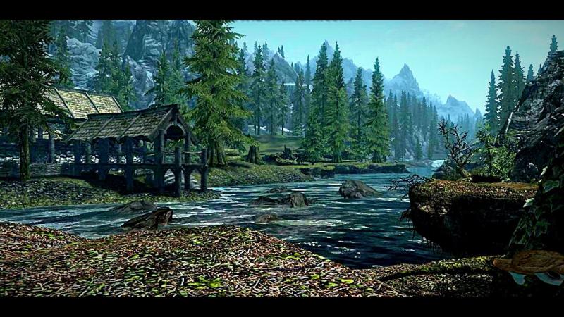 The Elder Scrollsc Skyrim - Старый, добрый Ривервуд