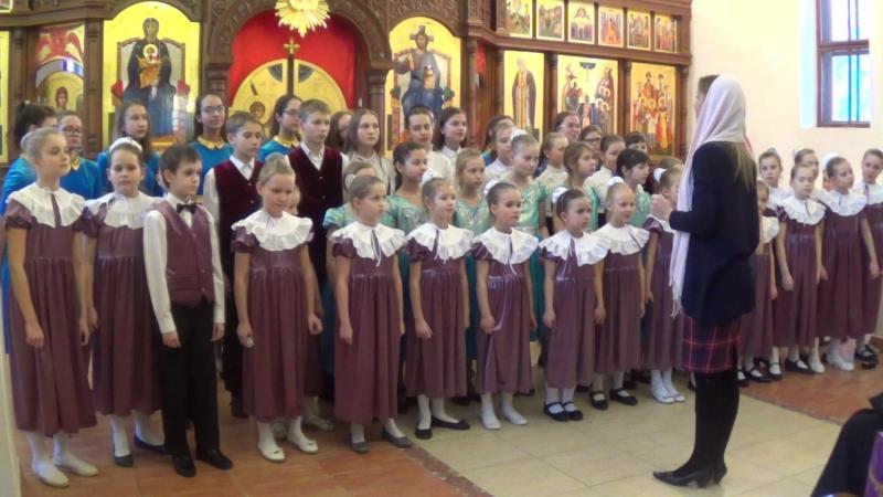 Сводный хор Покров. Песня Ангела муз. Г. Разбаевой, сл. И. Лепешинского