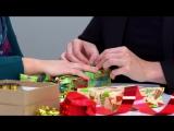 Новогодняя упаковка подарков- советы экспертов Oriflame