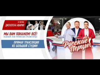 Концерт группы Дискотека Авария в шоу «Русские Перцы»