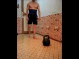 Тест на тренированность мышц спины и живота