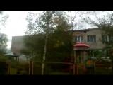 1237 Россия. Ураган. Смерч. Новгородская область, село Поддорье. 18 сентября 2017.