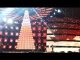 Юлиана Караулова и другие на концерте в Москве #новый#год#москва#