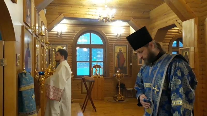 Первая диаконская хиротониия в Воркутинской епархии